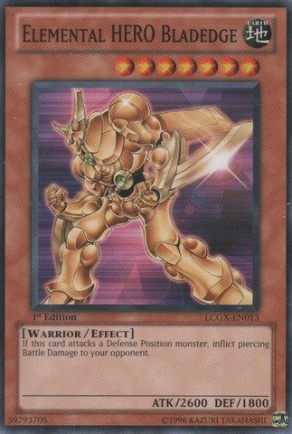 Yu-Gi-Oh! - Elemental HERO Bladedge (LCGX-EN013) - Legendary Collection 2 - 1st Edition - ()
