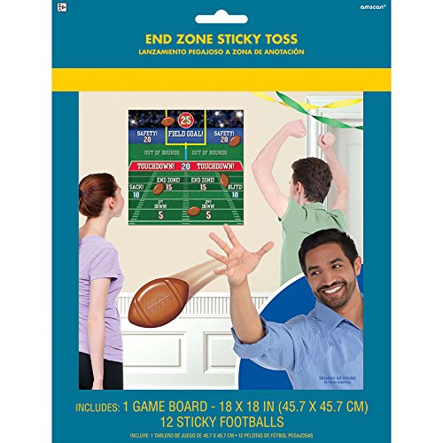 End Zone Sticky Toss Party Game