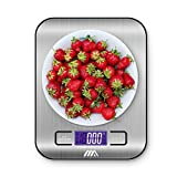 Adoric Food Scale, Digital Kitchen Scale - Multifunction, Easy to Clean, Stainless steel