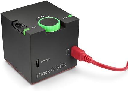 Amazon.com: Focusrite One iTRACK Pre Compact Micrófono ...