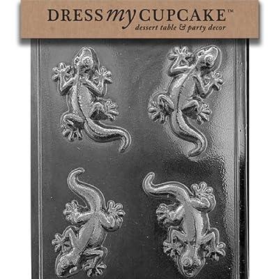Dress My Cupcake Chocolate Candy Mold, Lizard