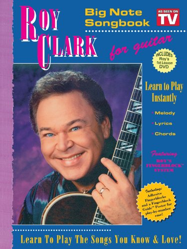 Big Note (Clark, Roy Big Note TV Songbook with 1st Lesson DVD)