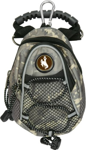 LinksWalker NCAA Wyoming Cowboys - Mini Day Pack - Camo by LinksWalker