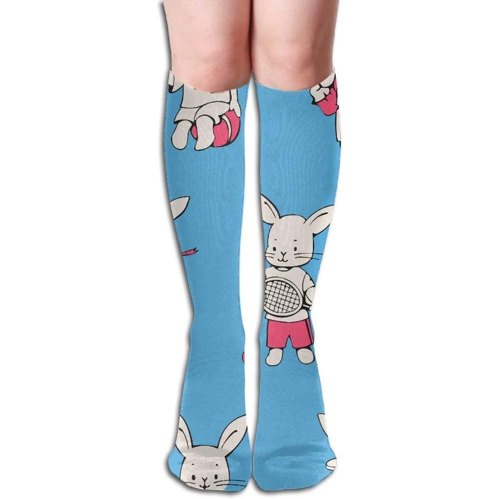 66399c0e187 Amazon.com  Funny Perfect Gifts Crew Stockings Unisex Cartoon Bunnies  Rabbit Fashion Sport Classic Knee High Long Socks One Size  Health    Personal Care
