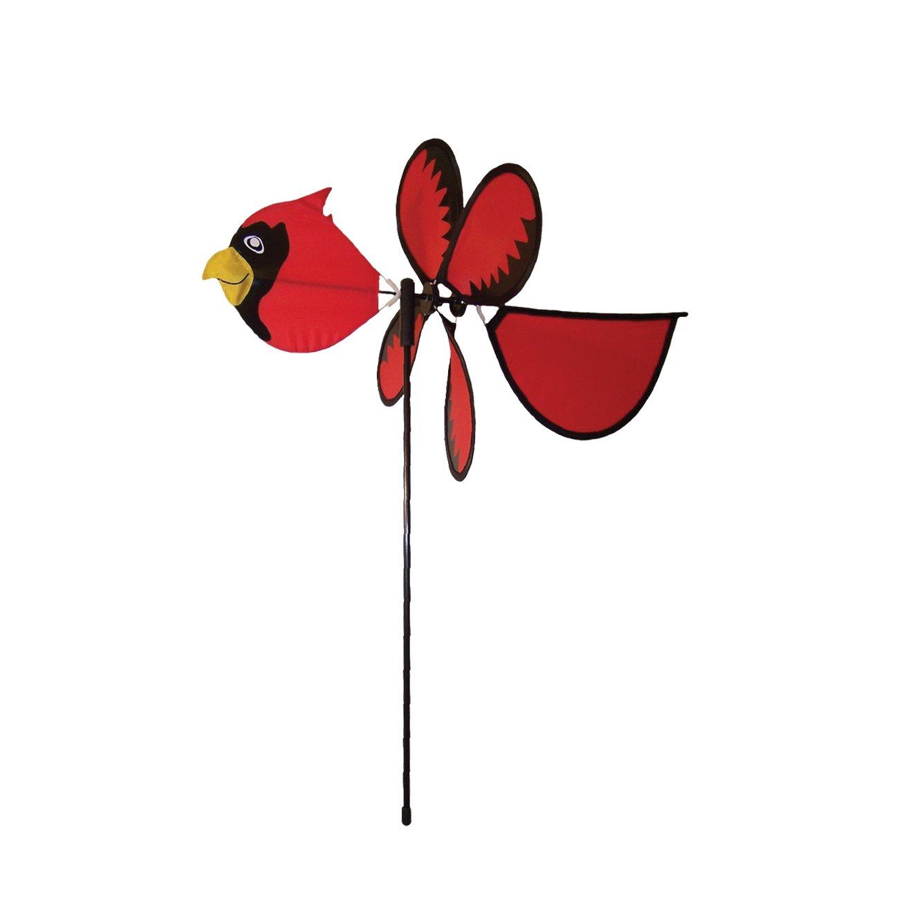 In The Breeze ITB2815 Cardinal Baby Bird Spinning Garden Stake B003CKOP92