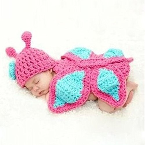 Creazy Baby Newborn Boy Girl Turtle Tortoise Crochet Cotton Knit Costume Photo 0-3 Months (Tortoise Costumes)
