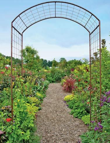 - Jardin Rose Arch