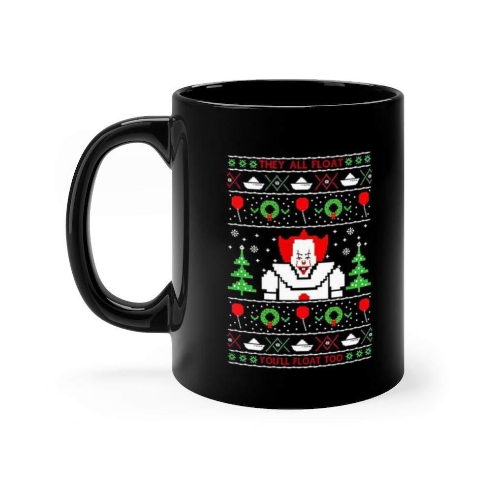 Christmas Floating Tea Cups.Amazon Com Pennywise Ugly Christmas Sweater Mug Coffee Mug