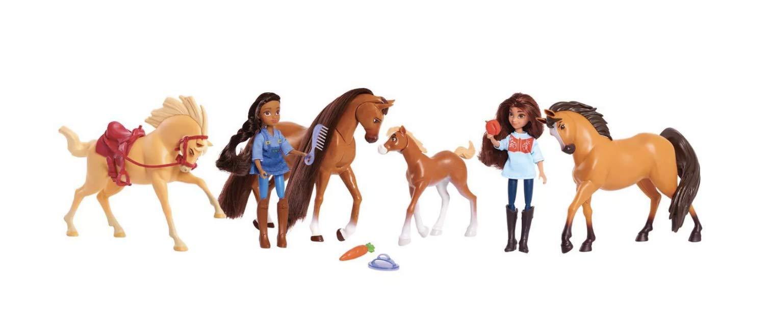 Spirit DreamWorks Riding Free Pasture Pals Set 12pc