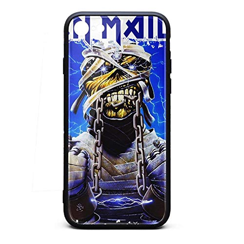 YJRTISF iPhone 7/8 Case Classic Music Albums Shockproof Case Glass Rear Cover 9H Tempered Glass Back Cover Scratch Resistant Soft TPU Material Bumper for iPhone 6/6S 6 Plus/6S Plus ()