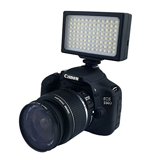 LP® LED Camera/Video Light,LP LED-1096,48PCS, Dimmable,Panel Light/with 2Pcs 18650 Rechargeable Batteries & USB cable /for DV & Digital Camera:Nikon,Cannon,Pentax,Olympus,Samsung