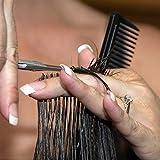 JOHN-65-Barber-Scissors-Japanese-Steel-Hair-Cutting-Shears-Self-Sharpening-Convex-Blades-Right-Hand-Hair-Stylist-Shears-Case-Pack-of-1-Unit