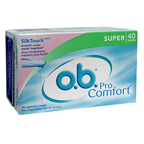 Pro confort Digital tampones o.b., Super, 40 cuenta