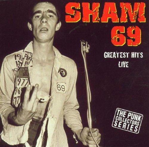 Sham 69 - Greatest Hits Live! by Anagram Punk UK (Image #2)