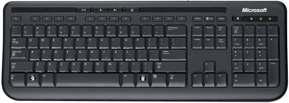 Microsoft Wired Desktop 600 Computer Zubehör