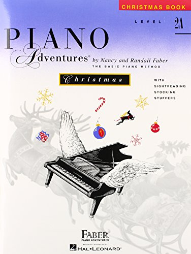 Level 2A - Christmas Book: Piano Adventures Paperback – Illustrated, January 1, 1996