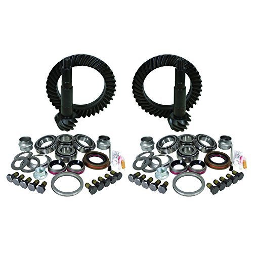 Yukon Gear YGK054 Gear and Install Kit Package (for Jeep JK Rubicon, 4.56 Ratio)