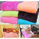 Glamorway Cute Soft Warm Pet Quilt Dog Cat Fleece Blanket