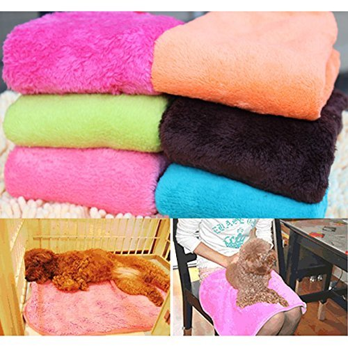 Glamorway Cute Soft Warm Pet Quilt Dog Cat Fleece Blanket