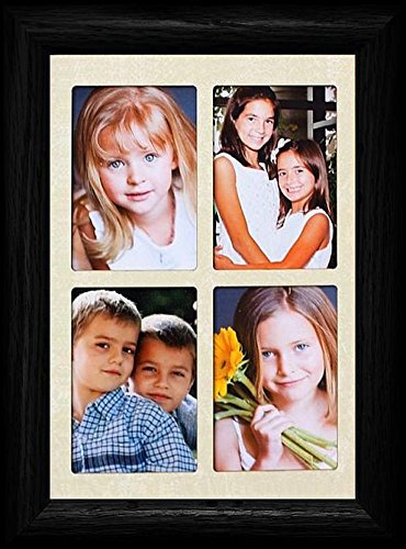 2x3 Wallet Window Picture Frame ~ Holds 4-Portrait 2