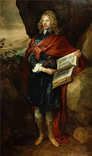 [Oil Painting 'Anthony Van Dyck - Sir John Suckling, 1632-41' 10 x 17 inch / 25 x 43 cm , on High Definition HD canvas prints is for Gifts And Basement, Bath Room And Laundry Room Decoration] (Anthony Logistics Shampoo)