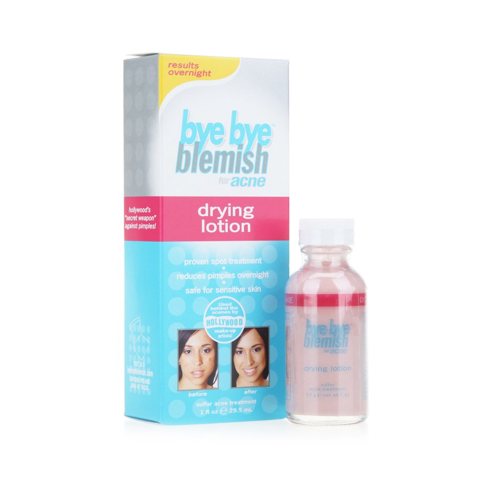 Bye Bye Blemish For Acne Drying Lotion 1 oz (Pack of 2)