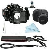 CamDive® Underwater camera housing for Panasonic LX100 & Aluminium handle