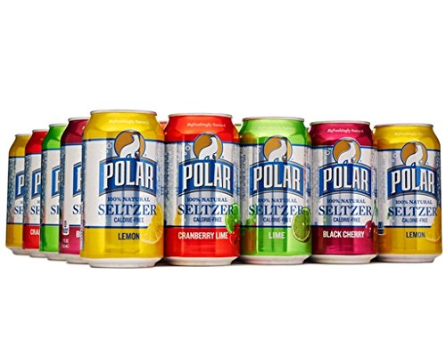 Polar Beverages Seltzer Variety Pack, 12 Fluid Ounce (Pack of 24) by Polar Products