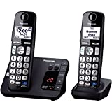 Panasonic KX-TGE234B 4-Handset Landline Telephone (Renewed)