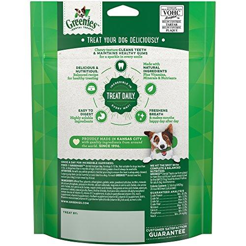 GREENIES Original TEENIE Natural Dental Dog Treats, 6 oz. Pack (22 Treats)
