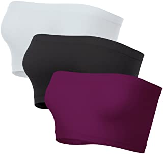 product image for Kurve Mini Bandeau Tube top Multi Pack - UV Protective Fabric, Rated UPF 50+ (Made with Love in The USA)