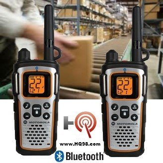 (Motorola MU350R 35-Mile Range 22-Channel FRS/GMRS Two Way Bluetooth Radio (Grey)(Discontinued by Manufacturer))