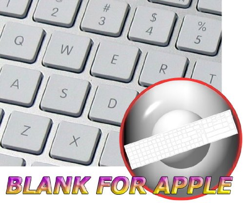 Price comparison product image BLANK TRANSPARENT STICKERS FOR APPLE KEYBOARD