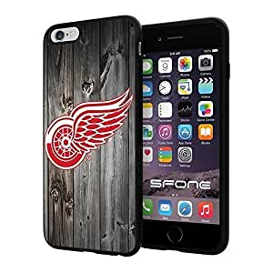New Fashion Case Detroit Red Wings Black Wood #172 iphone 5s SpqxFgWY7lv I+ case cover protective Scratch Proof Soft case cover Protector WANGJING JINDA