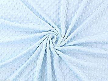 Powder Blue Luxury Cuddle Fleece Fabric