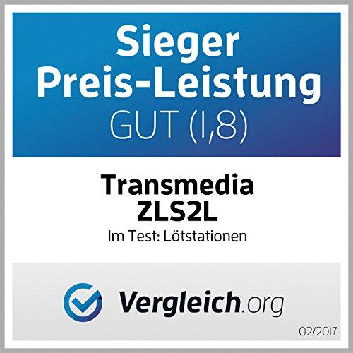 Transmedia Lö tstation, elektronisch temperaturgesteuert, LCD-Anzeige, 5% Genauigkeit ZLS2L