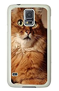 Samsung S5 case mate cover Cat Id28 PC White Custom Samsung Galaxy S5 Case Cover by icecream design