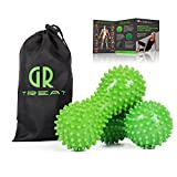 Plantar Fasciitis Foot Roller Ball - Peanut Massage Ball for Myofascial Release Treatment & Trigger Point Therapy - Great for Heel & Foot Arch Pain Relief