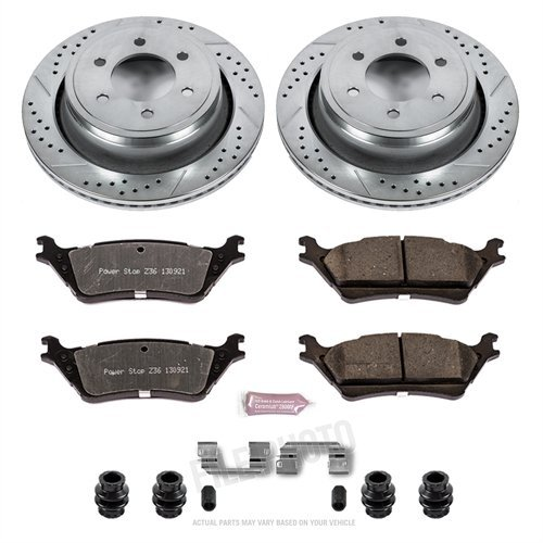 - Power Stop K6271-36 Rear Z36 Truck and Tow Brake Kit