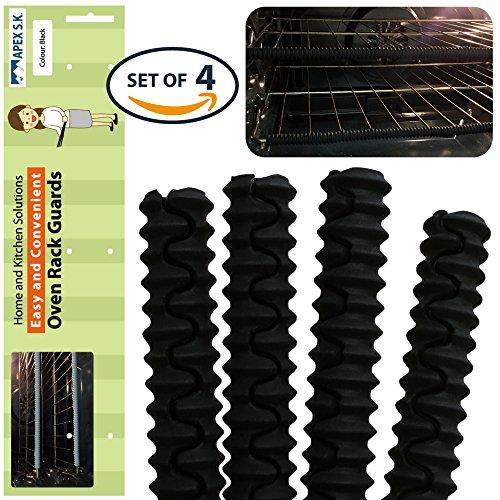 silicon oven rack edge guard - 4