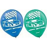 Race Car Balloons 12