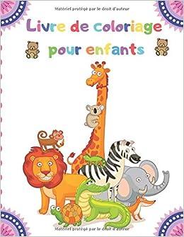 Livre De Coloriage Pour Enfants 100 Animaux Y Compris Animaux De