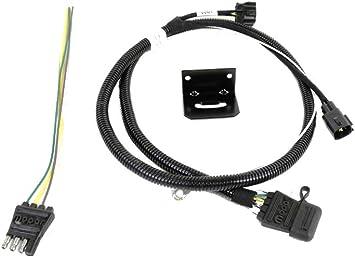 Amazon.com: Mopar 82209183AB 4 Way Flat Trailer Tow Wiring Harness Jeep  Wrangler: AutomotiveAmazon.com