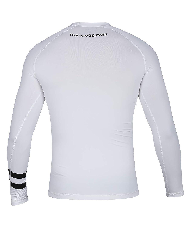 Hurley Mens Long Sleeve Pro Light Quick Dry Sun Protection Rashguard 894625