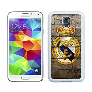 Real Madrid 2 White Case for Samsung Galaxy S5 i9600,Prefectly fit and directly access all the features