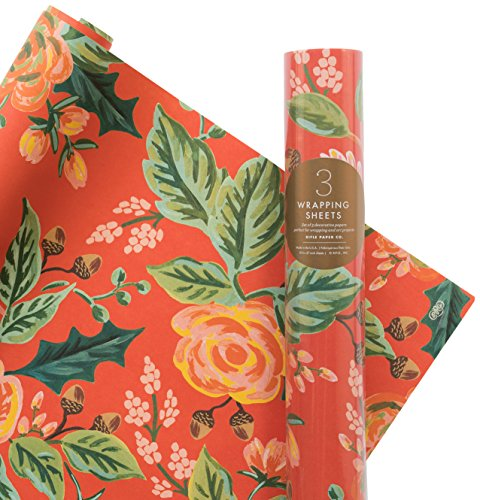 Rifle Paper Co. Jardin Noel Wrapping Roll