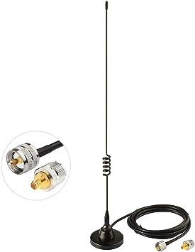 400-470MHz UHF handheld ham two way radio magnetic omni directional antenna BNC