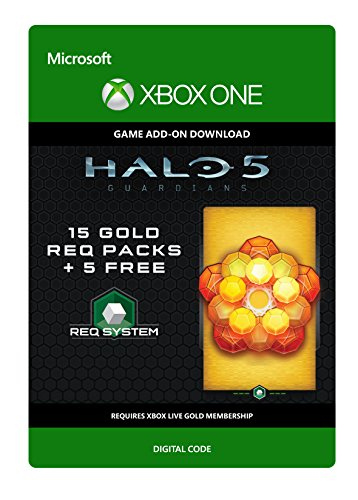 Halo 5: Guardians: 20 Gold REQ Packs - Xbox One Digital Code