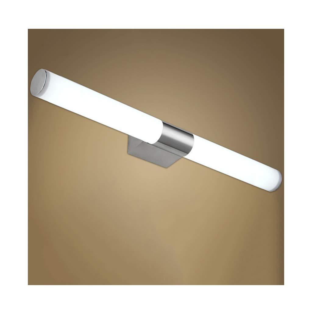 &Badezimmerbeleuchtung Spiegel Frontleuchte LED-Badezimmer Schlafzimmer Badezimmer Make-up Lampe Spiegel Kabinett Licht Licht (Farbe   weißes Licht-Length54cm-12w)