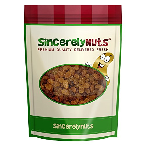Sincerely Nuts Organic Sultana Raisins - 1 Lb. - Raisins Organic